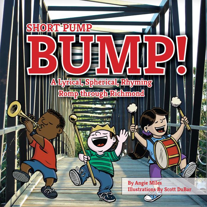 Short Pump Bump illustrated by Scott DuBar